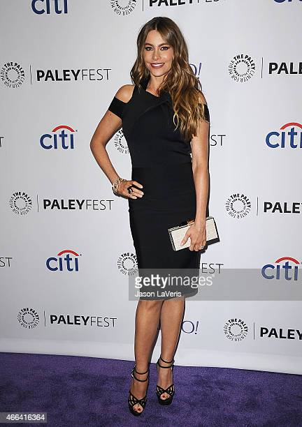 Actress Sofia Vergara attends the 'Modern Family' event at the 32nd annual PaleyFest at Dolby Theatre on March 14 2015 in Hollywood California