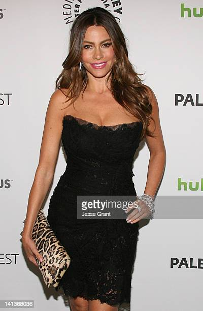 Actress Sofia Vergara attends The Paley Center for Media's PaleyFest 2012 honoring 'Modern Family' at Saban Theatre on March 14 2012 in Beverly Hills...