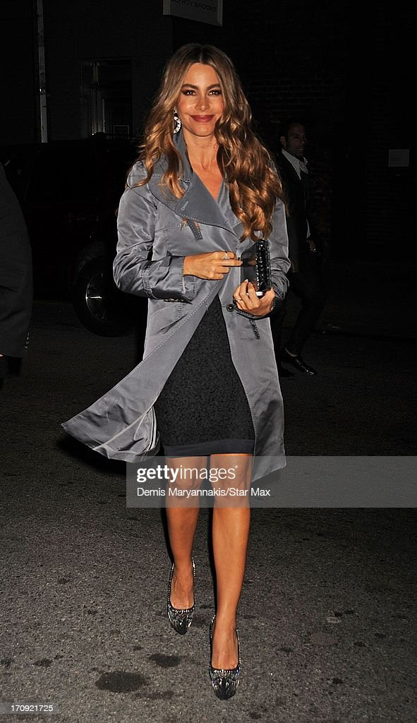 Actress Sofia Vergara is seen on June 19, 2013 in New York City.