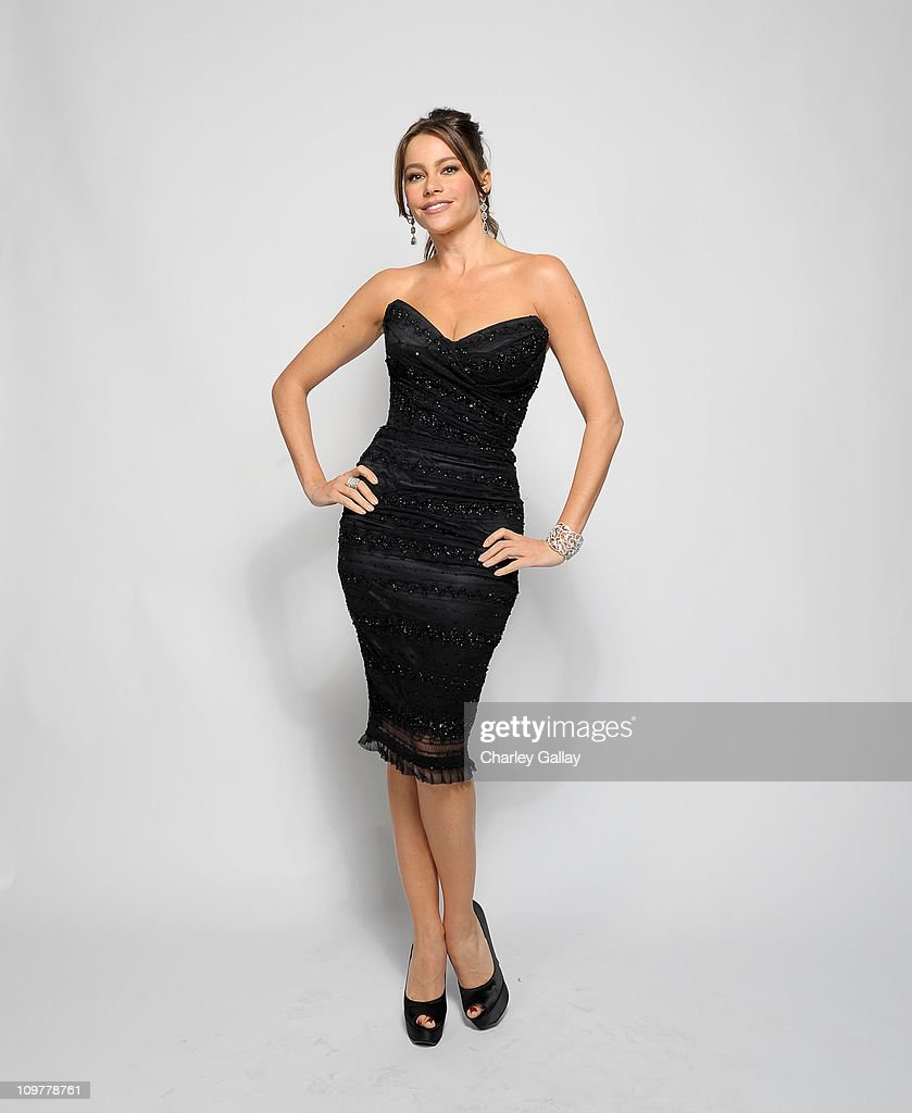 Actress Sofia Vergara poses for a portrait at the 42nd NAACP Image Awards held at The Shrine Auditorium on March 4 2011 in Los Angeles California