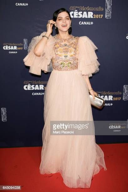 Actress SoKo attends the the Cesar Film Awards 2017 ceremony at Salle Pleyel on February 24 2017 in Paris France