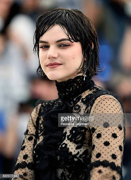Actress Soko attends the 'The Stopover ' photocall during the 69th Annual Cannes Film Festival at the Palais des Festivals on May 18 2016 in Cannes...