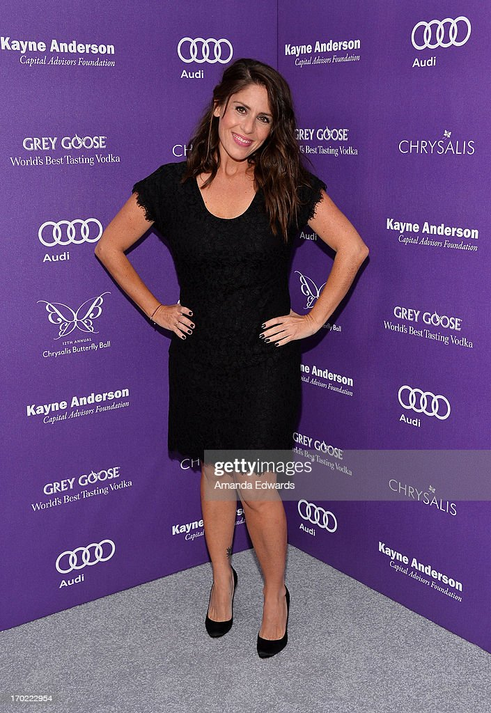 Actress Soleil Moon Frye arrives at the 12th Annual Chrysalis Butterfly Ball on June 8, 2013 in Los Angeles, California.