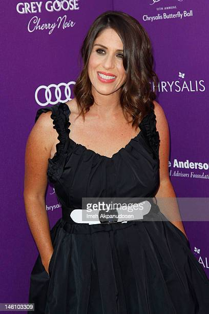 Actress Soleil Moon Frye attends the 11th Annual Chrysalis Butterfly Ball on June 9 2012 in Los Angeles California