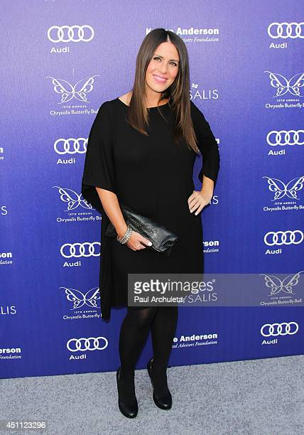 Actress Soleil Moon Frye attends the 13th Annual Chrysalis Butterfly Ball at a private Mandeville Canyon Estate on June 7 2014 in Los Angeles...