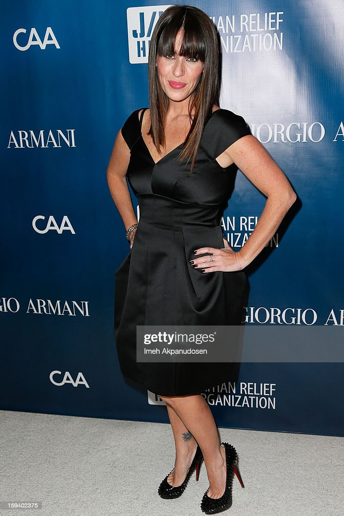 Actress Soleil Moon Frye attends the 2nd Annual Sean Penn and Friends Help Haiti Home Gala benefiting J/P HRO presented by Giorgio Armani at Montage Hotel on January 12, 2013 in Los Angeles, California.