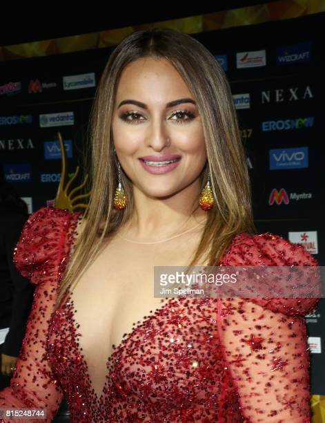 Actress Sonakshi Sinha attends the 2017 International Indian Film Academy Festival at MetLife Stadium on July 14 2017 in East Rutherford New Jersey