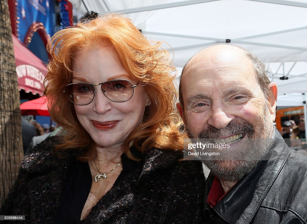 Actress Sondra Currie (L) and husband director Alan J. Levi attend Barbara Bain being honored with a Star on the Hollywood Walk of Fame on April 28, 2016 in Hollywood, California.
