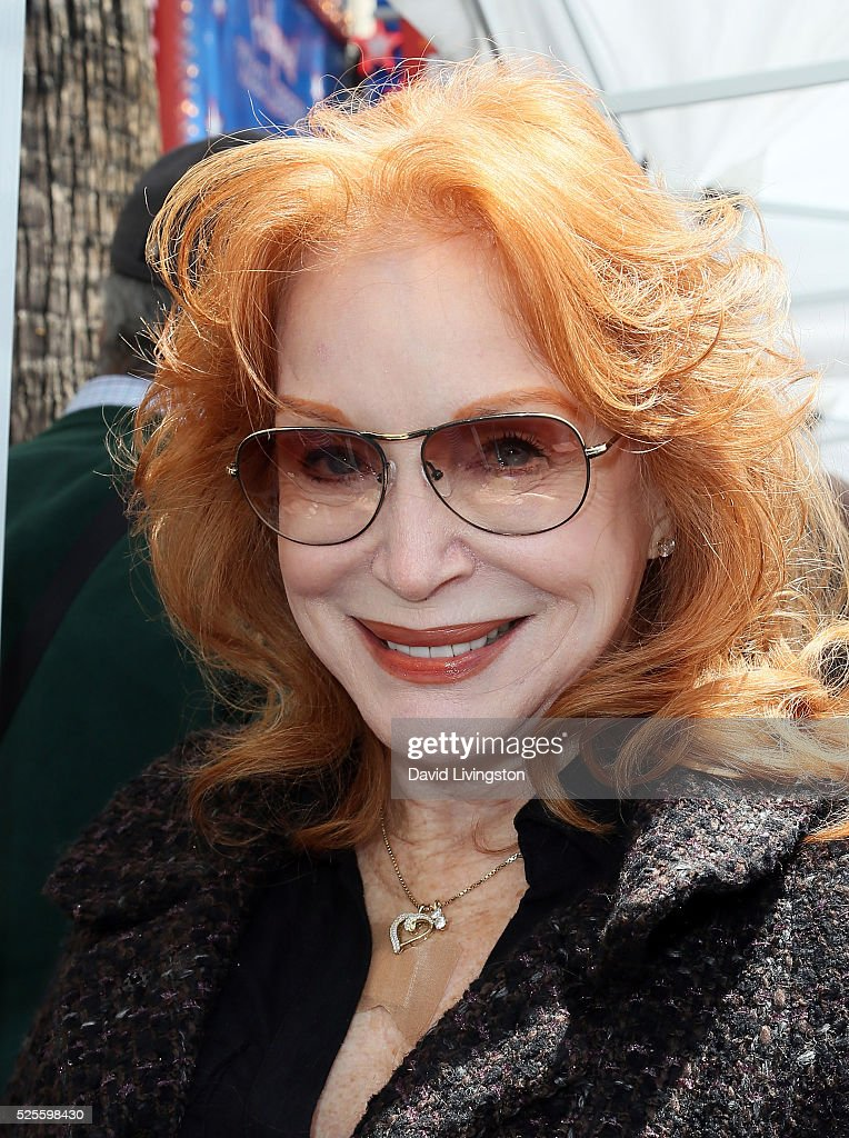 Actress Sondra Currie attends Barbara Bain being honored with a Star on the Hollywood Walk of Fame on April 28, 2016 in Hollywood, California.