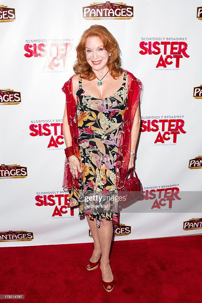 Actress Sondra Currie attends the Los Angeles Show Premiere of 'Sister Act' at the Pantages Theatre on July 9, 2013 in Hollywood, California.