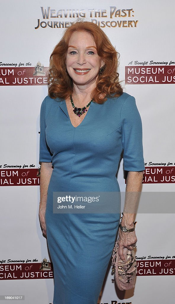Actress Sondra Currie attends the screening of 'Weaving The Past: Journey Of Discovery' at the Linwood Dunn Theater at the Pickford Center for Motion Study on May 18, 2013 in Hollywood, California.