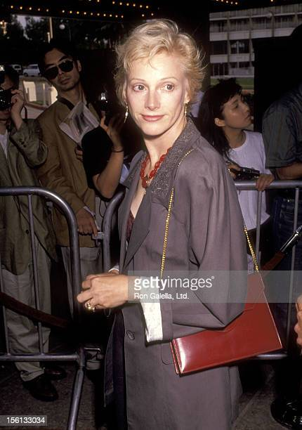 Actress Sondra Locke attends the 'Terminator 2 Judgment Day' Los Angeles Premiere on July 1 1991 at Cineplex Odeon Cinemas in Los Angeles California