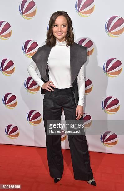 Actress Sonja Gerhardt during the 'Jack the Ripper Eine Frau jagt einen Moerder' Premiere at Gloria Palast on November 10 2016 in Munich Germany