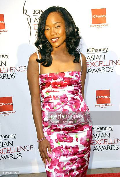 Actress Sonja Sohn arrives at the 2008 JCPenney Asian Excellence Awards on April 23 2008 at UCLA's Royce Hall in Westwood California USA