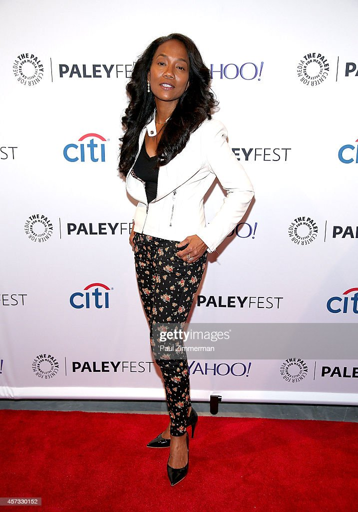 Actress Sonja Sohn attends the 2nd Annual Paleyfest New York Presents 'The Wire Reunion' at Paley Center For Media on October 16 2014 in New York New...