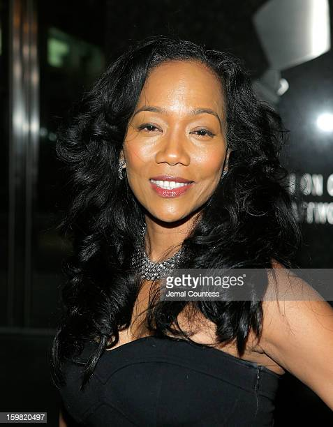 Actress Sonja Sohn attends The HipHop Inaugural Ball II at Harman Center for the Arts on January 20 2013 in Washington DC