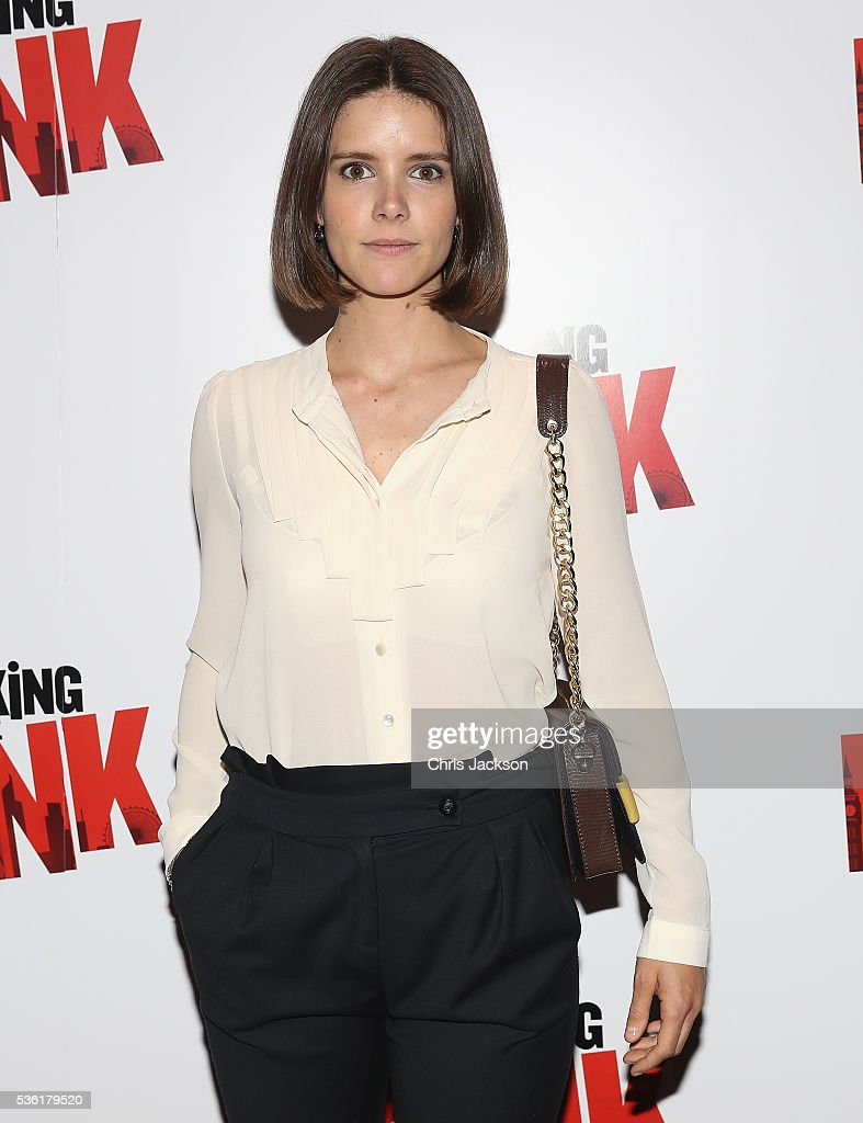 Actress Sonya Cassidy attends the UK Gala Screening of 'Breaking the Bank' at Empire Leicester Square on May 31, 2016 in London, England.