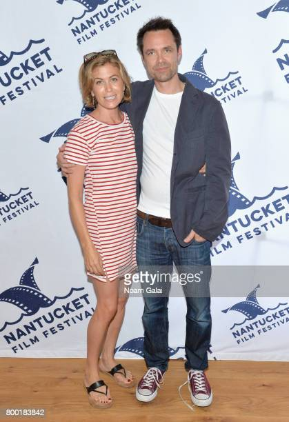 Actress Sonya Walger and screenwriter Davey Holmes attend 'TV and Talk Get Shorty' during the 2017 Nantucket Film Festival Day 3 on June 23 2017 in...