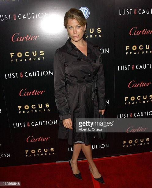Actress Sonya Walger arrives at the Los Angeles premiere of Focus Features' 'Lust Caution' held at the Academy Theater on October 3 2007 in Beverly...