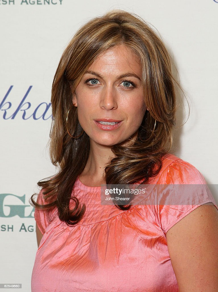 Actress Sonya Walger attends The Gersh Agency EMMY Party w/Special Guest Frederic Fekkai held at The Terrace at Sunset Tower Hotel on September 14, 2007 in Los Angeles, California.