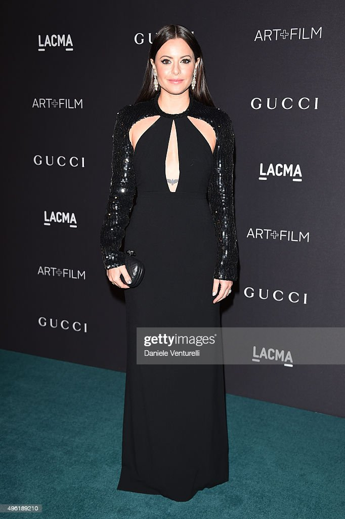 Actress Sophia Amoruso attends LACMA 2015 Art+Film Gala Honoring James Turrell and Alejandro G Iñárritu, Presented by Gucci at LACMA on November 7, 2015 in Los Angeles, California.
