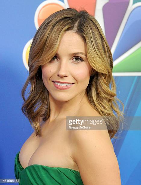 Actress Sophia Bush arrives at day 2 of the NBCUniversal 2015 Press Tour at The Langham Huntington Hotel and Spa on January 16 2015 in Pasadena...