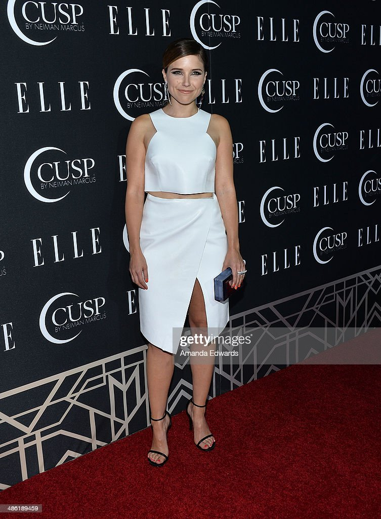Actress Sophia Bush arrives at ELLE's 5th Annual Women In Music concert celebration presented by CUSP By Neiman Marcus at Avalon on April 22, 2014 in Hollywood, California.