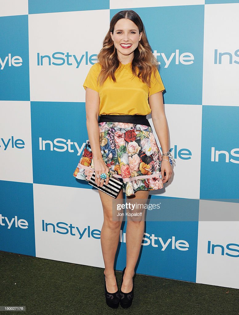 Actress Sophia Bush arrives at the 11th Annual InStyle Summer Soiree at The London Hotel on August 8 2012 in West Hollywood California