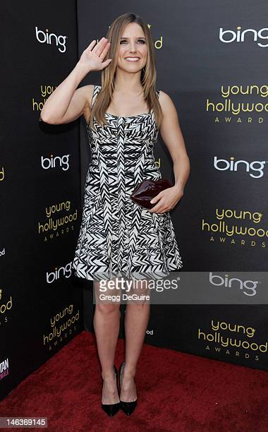 Actress Sophia Bush arrives at the 14th Annual Young Hollywood Awards at Hollywood Athletic Club on June 14 2012 in Hollywood California