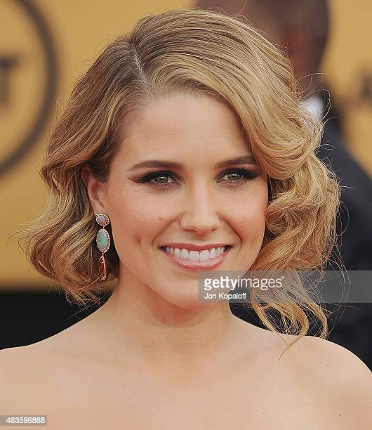 Actress Sophia Bush arrives at the 21st Annual Screen Actors Guild Awards at The Shrine Auditorium on January 25 2015 in Los Angeles California