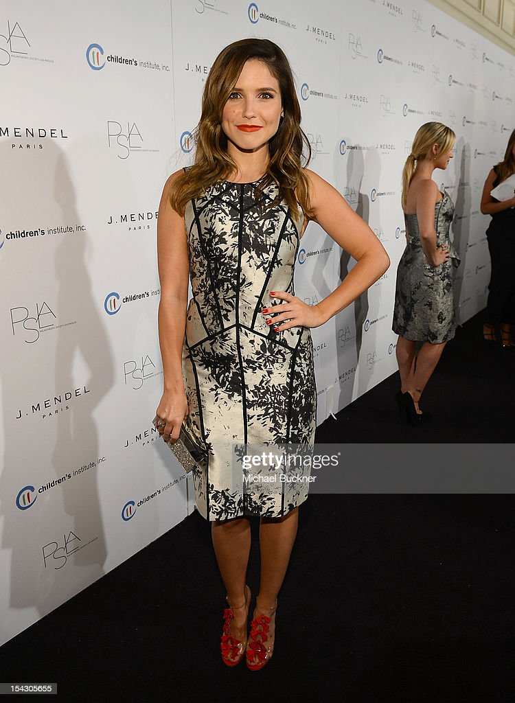 Actress Sophia Bush arrives at The 3rd Annual Autumn Party Feature a fashion show by J. Mendel Benefitting Children's Institute, Inc. at The London on October 17, 2012 in West Hollywood, California.
