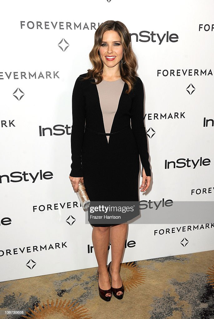 Actress Sophia Bush arrives at the Forevermark And InStyle's 'A Promise Of Beauty And Brilliance' Golden Globe Awards Event at Beverly Hills Hotel on January 10, 2012 in Beverly Hills, California.
