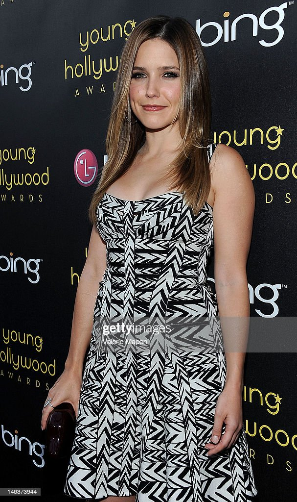 Actress <a gi-track='captionPersonalityLinkClicked' href=/galleries/search?phrase=Sophia+Bush&family=editorial&specificpeople=203180 ng-click='$event.stopPropagation()'>Sophia Bush</a> arrives at the Young Hollywood Awards at Hollywood Athletic Club on June 14, 2012 in Hollywood, California.