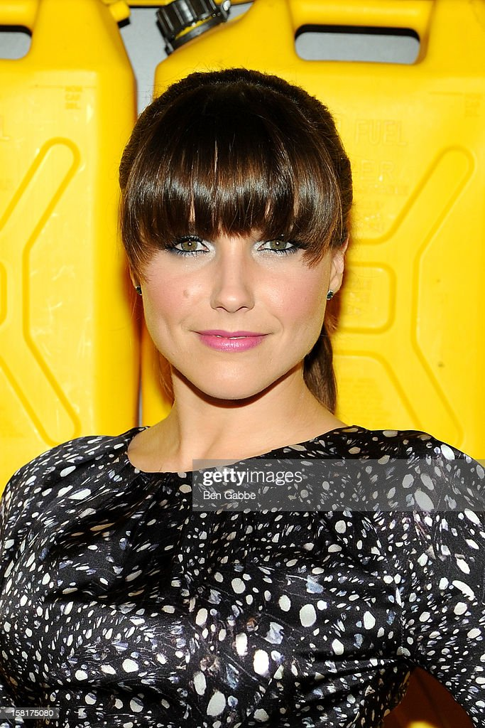 Actress Sophia Bush attends 7th Annual Charity Ball Benefiting Charity:Water at the 69th Regiment Armory on December 10, 2012 in New York City.