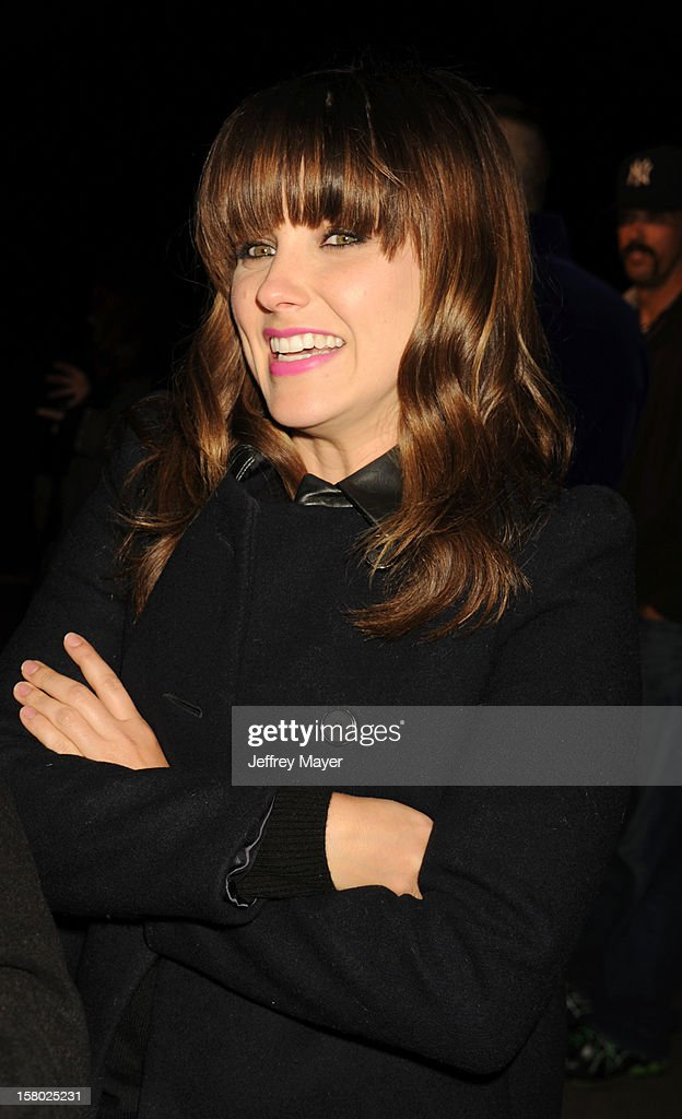 Actress Sophia Bush attends Charlie Ebersol's 'Charlieland' Birthday Party And Charity: Water Fundraiser on December 8, 2012 in Los Angeles, California.