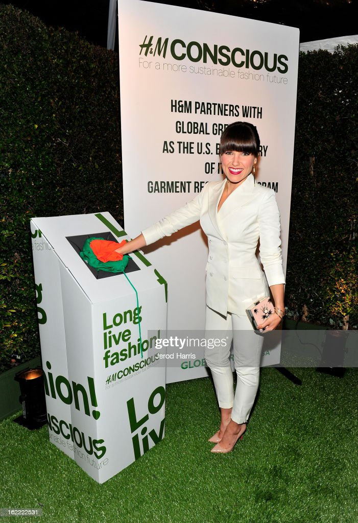 Actress Sophia Bush attends Global Green USA's 10th Anniversary Pre-Oscar Party sponsored by H&M at Avalon on February 20, 2013 in Hollywood, California.