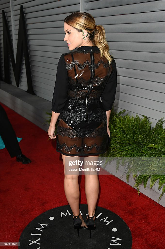 Actress Sophia Bush attends Maxim's Hot 100 Women of 2014 celebration and sneak peek of the future of Maxim at Pacific Design Center on June 10, 2014 in West Hollywood, California.