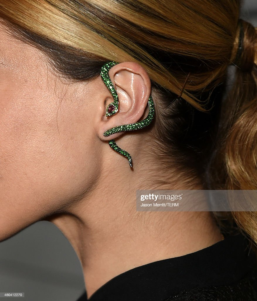 Actress Sophia Bush (fashion detail) attends Maxim's Hot 100 Women of 2014 celebration and sneak peek of the future of Maxim at Pacific Design Center on June 10, 2014 in West Hollywood, California.