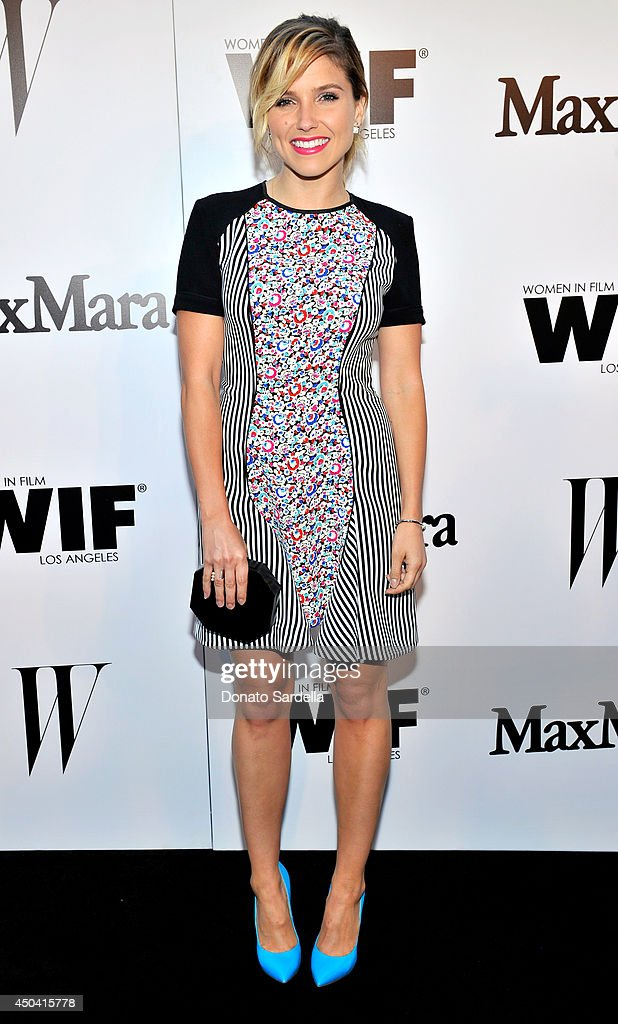 Actress <a gi-track='captionPersonalityLinkClicked' href=/galleries/search?phrase=Sophia+Bush&family=editorial&specificpeople=203180 ng-click='$event.stopPropagation()'>Sophia Bush</a> attends MaxMara And W Magazine Cocktail Party To Honor The Women In Film MaxMara Face Of The Future, Rose Byrne at Chateau Marmont on June 10, 2014 in Los Angeles, California.