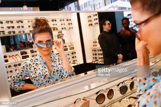 Actress Sophia Bush attends Sunglass Hut's 'Made For Summer' event featuring Sophia Bush at Sunglass Hut Times Square on June 20 2017 in New York City