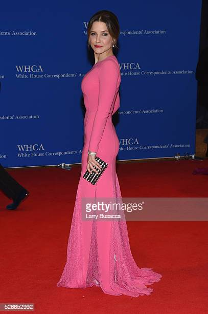 Actress Sophia Bush attends the 102nd White House Correspondents' Association Dinner on April 30 2016 in Washington DC