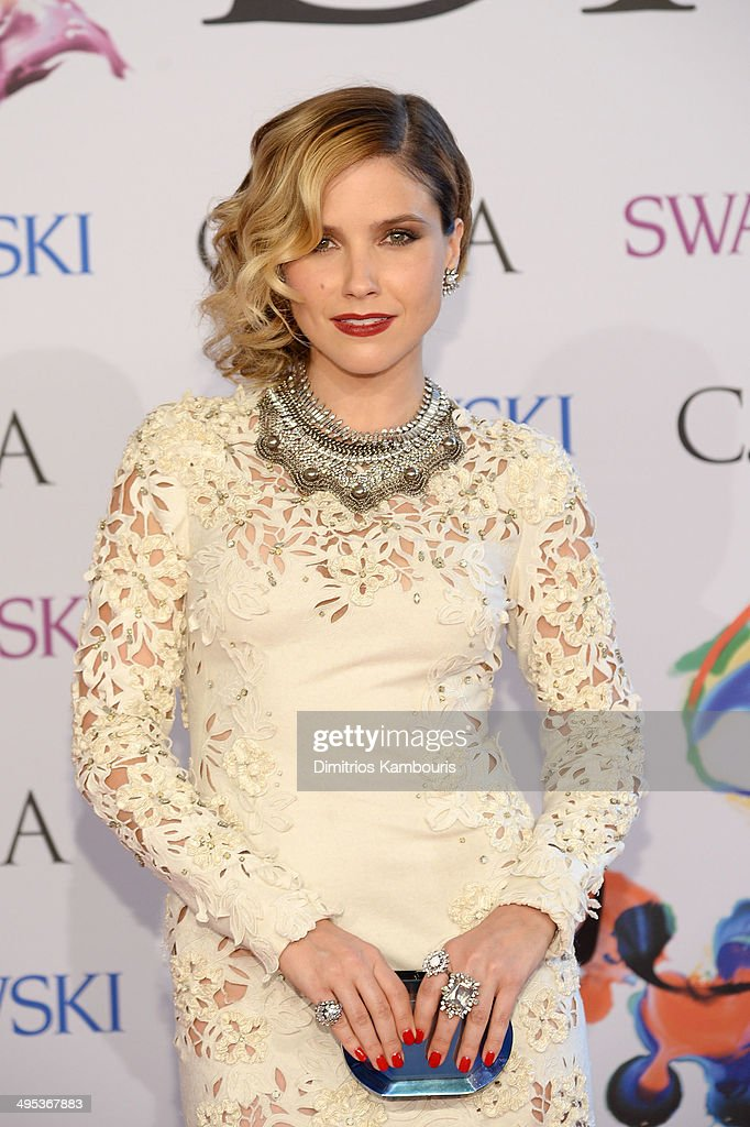 Actress Sophia Bush attends the 2014 CFDA fashion awards at Alice Tully Hall Lincoln Center on June 2 2014 in New York City