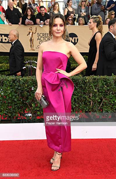 Actress Sophia Bush attends The 23rd Annual Screen Actors Guild Awards at The Shrine Auditorium on January 29 2017 in Los Angeles California 26592_008
