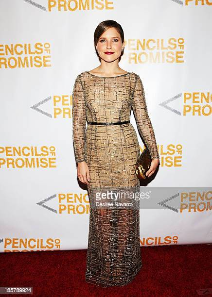 Actress Sophia Bush attends the 3rd annual Pencils of Promise Gala at Guastavino's on October 24 2013 in New York City