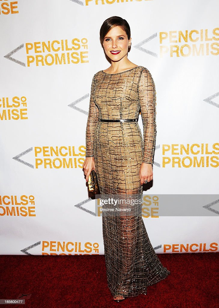 Actress Sophia Bush attends the 3rd annual Pencils of Promise Gala at Guastavino's on October 24, 2013 in New York City.