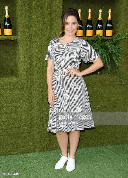 Actress Sophia Bush attends the 8th annual Veuve Clicquot Polo Classic at Will Rogers State Historic Park on October 14 2017 in Pacific Palisades...