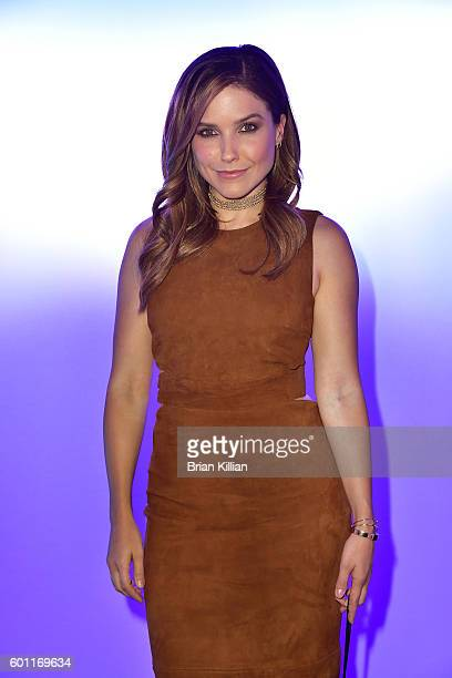Actress Sophia Bush attends the Cushnie Et Ochs show during September 2016 New York Fashion Week The Shows event at The Dock Skylight at Moynihan...
