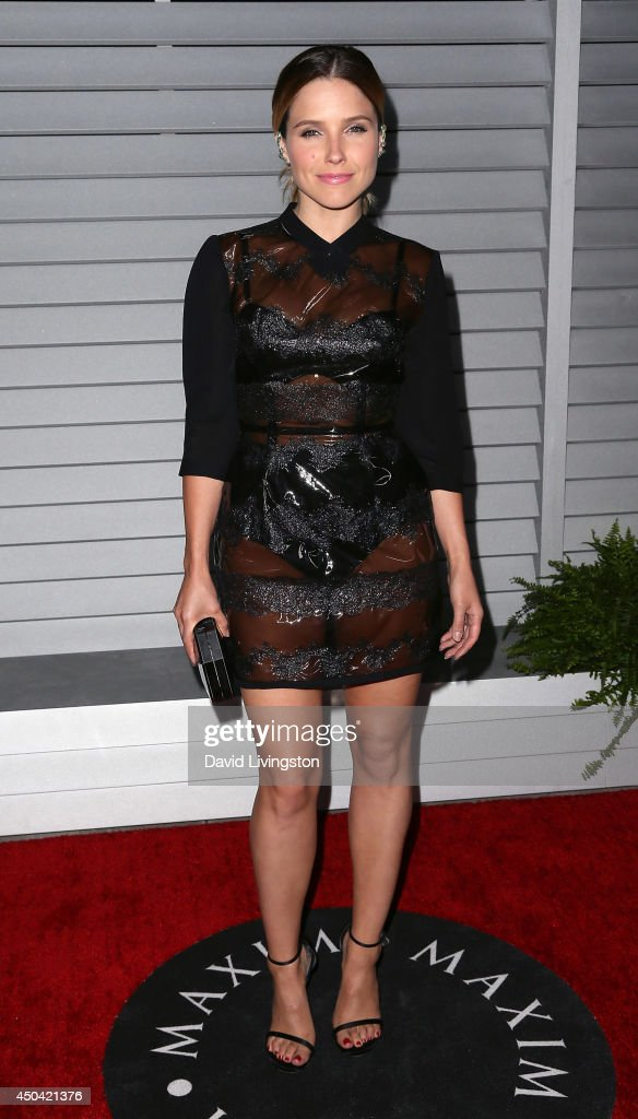 Actress <a gi-track='captionPersonalityLinkClicked' href=/galleries/search?phrase=Sophia+Bush&family=editorial&specificpeople=203180 ng-click='$event.stopPropagation()'>Sophia Bush</a> attends the Maxim Hot 100 event at the Pacific Design Center on June 10, 2014 in West Hollywood, California.