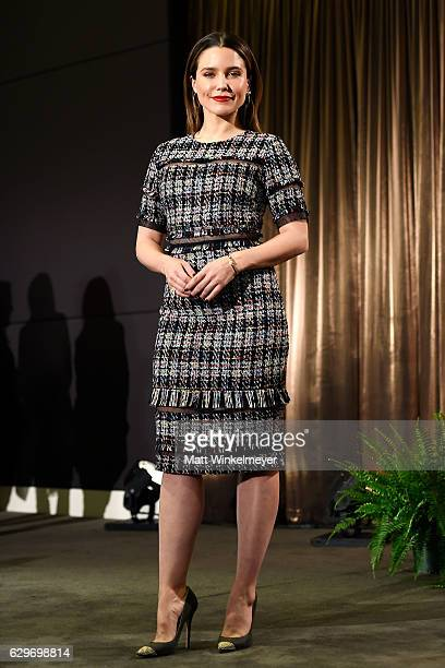 Actress Sophia Bush attends the SAG Awards Online Holiday Auction benefits the SAGAFTRA Foundation at Pacific Design Center on December 14 2016 in...
