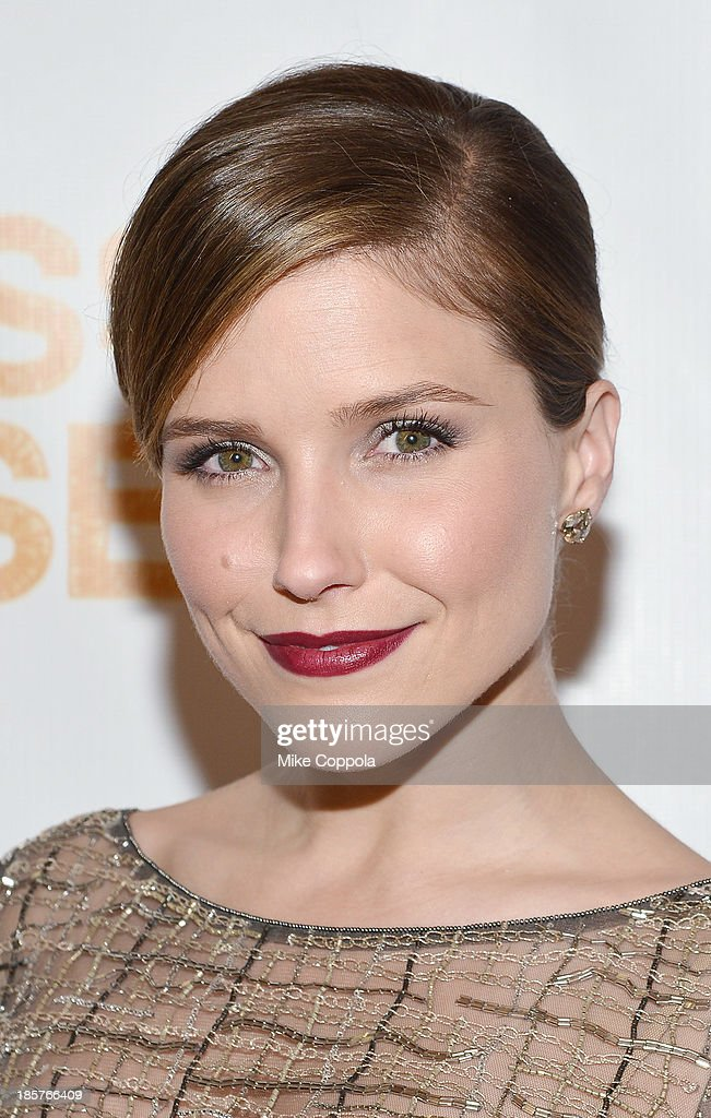 Actress Sophia Bush attends the third annual Pencils of Promise gala at Guastavino's on October 24, 2013 in New York City.